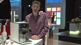 GranBaristo Philips Saeco demo ipad