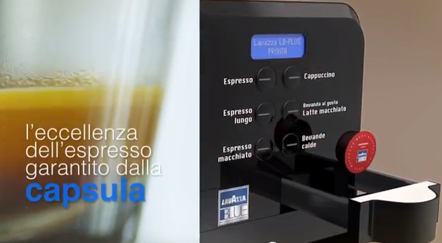 Lavazza coffee system