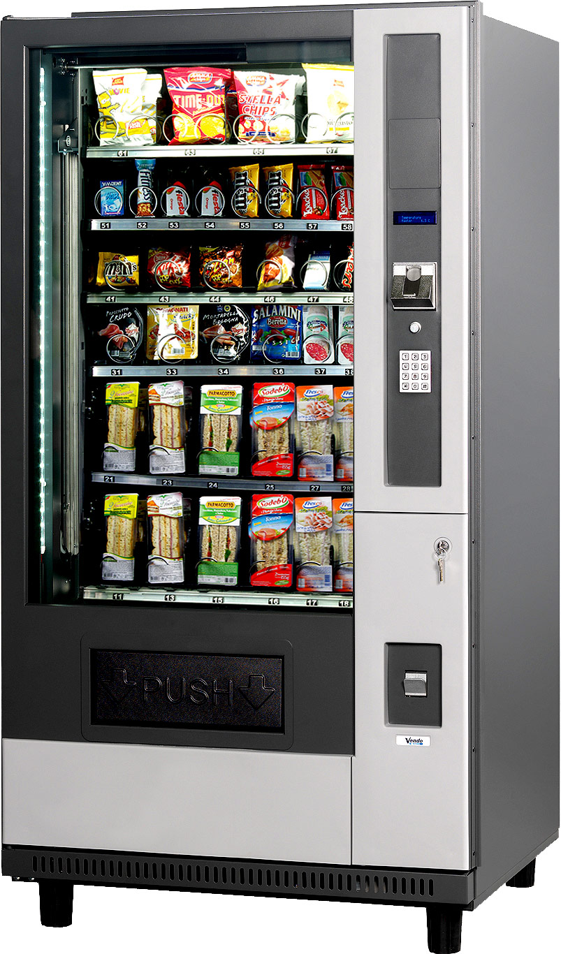 g snack vending machines Orizont Line distributori automatici svizzera ticino